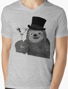 Rather Slothisticated Mens V-Neck T-Shirt