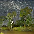 """Star trail over Condamine"" by GrantRolphPhoto"