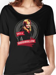 She's a Marshmallow Women's Relaxed Fit T-Shirt
