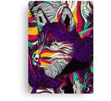Color Husky Canvas Print