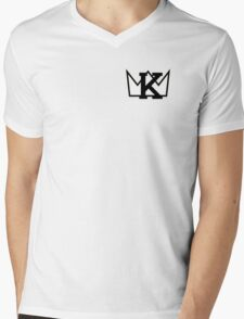 K Crown small Mens V-Neck T-Shirt