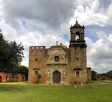 The Cathedral of San Jose - San Antonio by Terence Russell