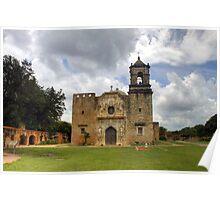 The Cathedral of San Jose - San Antonio Poster