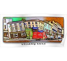 Killarney Rocks Poster