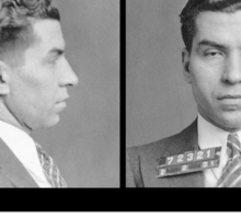 """Charles """"Lucky"""" Luciano - Lucky Sticker"""