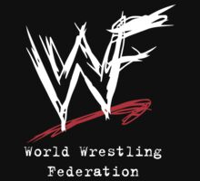 WWF Attitude Era Logo (White) by SwiftWind
