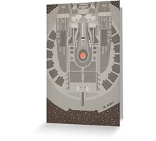 Stark Trek Enterprise - NX01 Refit Greeting Card