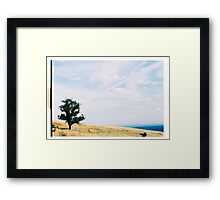 By Yourself II. Framed Print