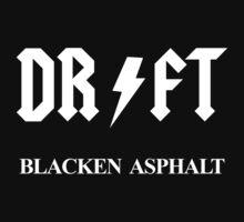 Drift Blacken Asphalt One Piece - Long Sleeve