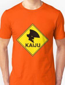 "Kaiju ""Giant Monster"" Warning T-Shirt"