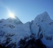 Sunrise over Everest by PerkyBeans
