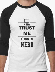 Trust me I´m a Nerd Men's Baseball ¾ T-Shirt