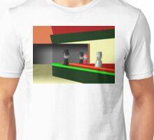 Nighthawks at the diner Unisex T-Shirt