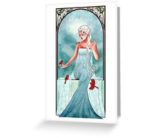 Queen of Ice and Snow Greeting Card