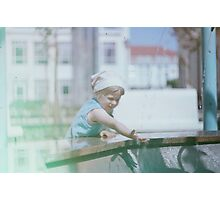 Kid in Poland Photographic Print