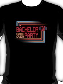 Bachelor Party Game Over T-Shirt