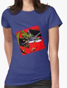 Dinowar Womens Fitted T-Shirt