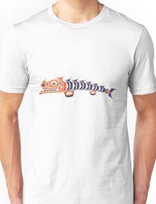 angry fish - aboriginal art stylization Unisex T-Shirt