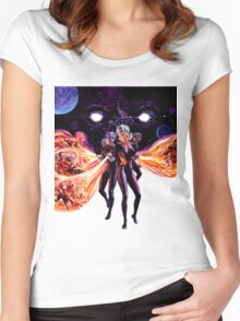 Fire Maidens Women's Fitted Scoop T-Shirt