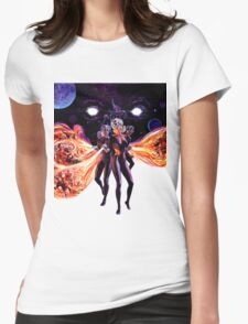 Fire Maidens Womens Fitted T-Shirt