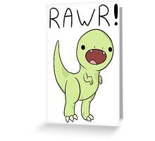 Rawrasaur! Greeting Card