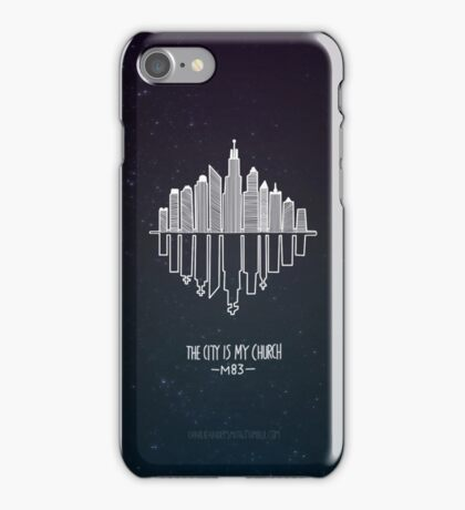 M83 'City is my Church' iPhone Case (Hurry Up, We're Dreaming) iPhone Case/Skin