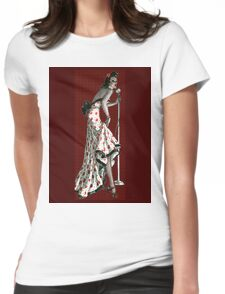 Torch Song Singer Womens Fitted T-Shirt