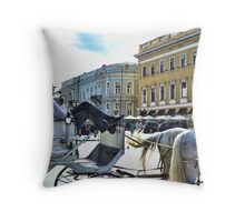 Driver should rest too Throw Pillow