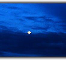 ©HCS Blue Sky And Moon I by OmarHernandez