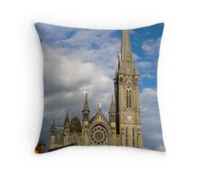 St. Colman's Cathedral in Cobh Throw Pillow