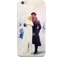 Christmas Time with Captain Swan iPhone Case/Skin
