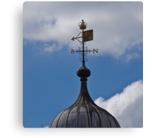 Weather Vane on Tower of London Canvas Print