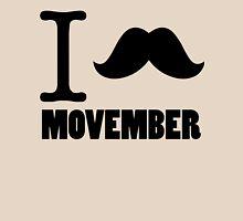 I Stache Movember Unisex T-Shirt