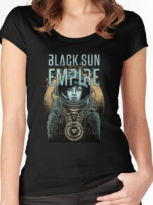 Black Sun Empire/1 Women's Fitted Scoop T-Shirt