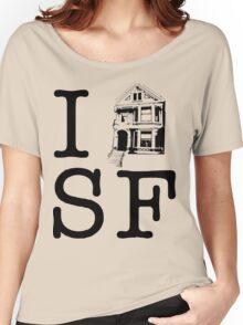 I Painted Lady SF Women's Relaxed Fit T-Shirt