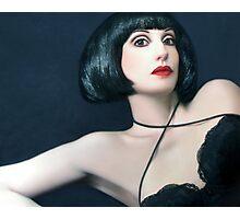 Exotic Beauty - Self Portrait Photographic Print