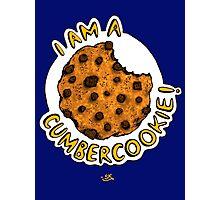 Cumbercookie of the Cumberbatch! Photographic Print