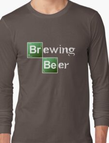 Brewing Beer Long Sleeve T-Shirt