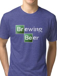 Brewing Beer Tri-blend T-Shirt