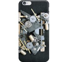 Gears For Nothing iPhone Case/Skin