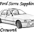 FORD SIERRA SAPPHIRE RS COSWORTH by Steve Pearcy