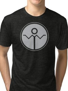 Grey Lantern - Grey Meh-Dition Tri-blend T-Shirt