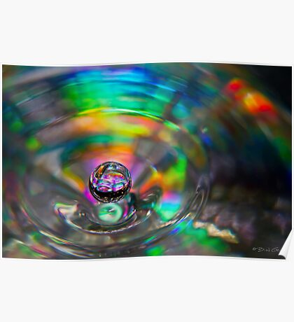 A Droplet of Colour Poster