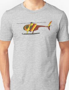 Hughes 500D Helicopter T-Shirt