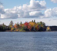 Autumn Waters in Muskoka by Gracey