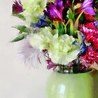 Floral Bouquet in Green by Gracey