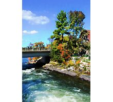 Autumn Cottage Landscape Photographic Print