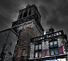 Haunted Mansion HDR by mattijs