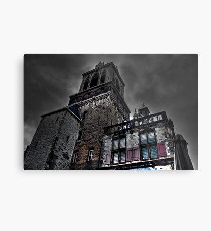 Haunted Mansion HDR Metal Print