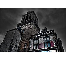 Haunted Mansion HDR Photographic Print